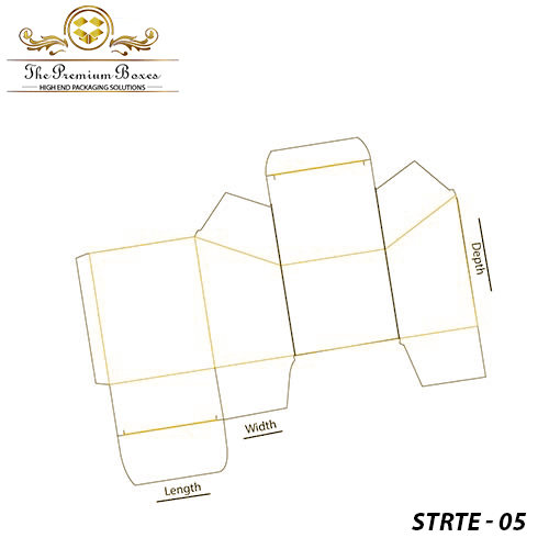 Slope-Top-Reverse-Tuck-End-Template