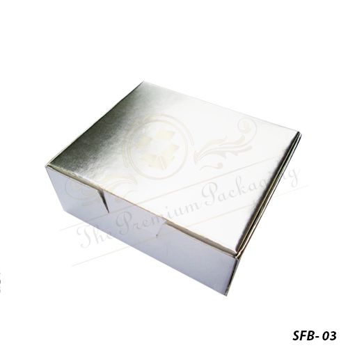 Custom Printed Silver Foil Boxes