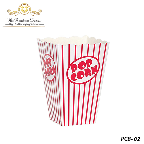 Red-Popcorn Boxes