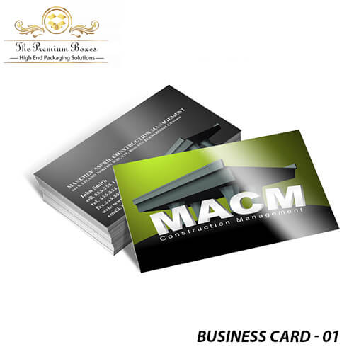 business cards services