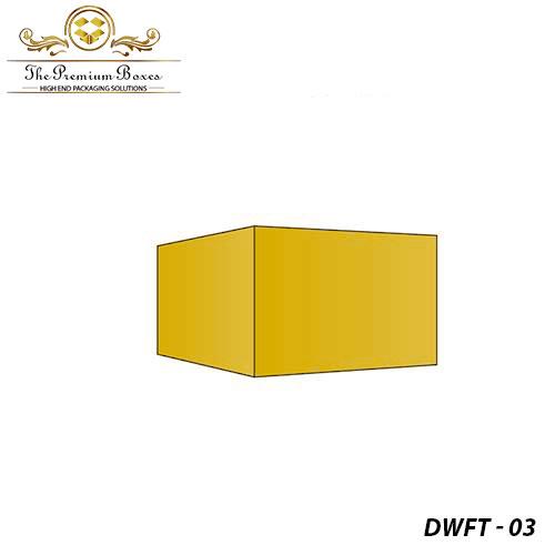 cardboard double wall frame tray