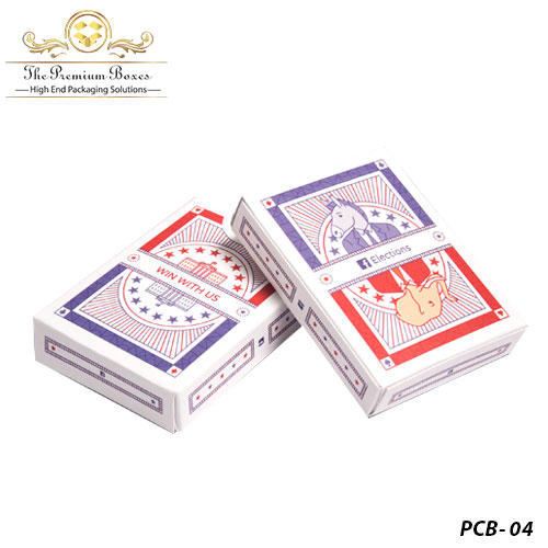 cardboard playing card boxes