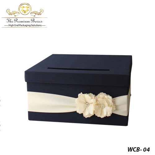 cardboard wedding card box