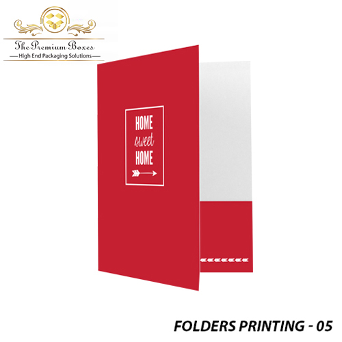 cheap custom printed folders