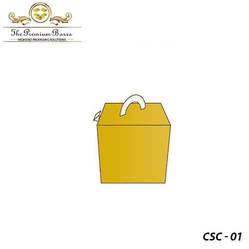 cube shaped carried packaging