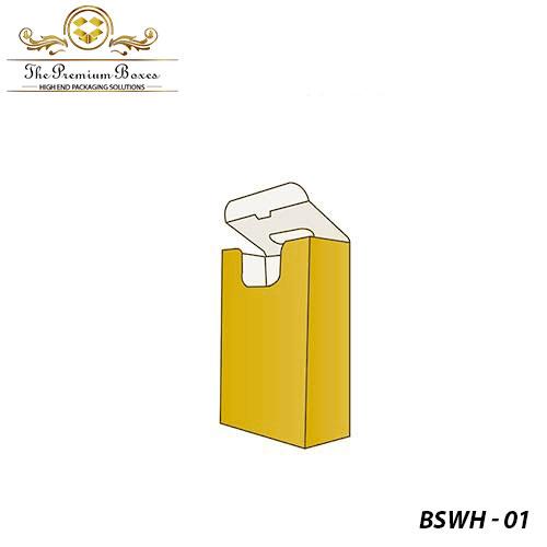 custom bag shaped box with handle