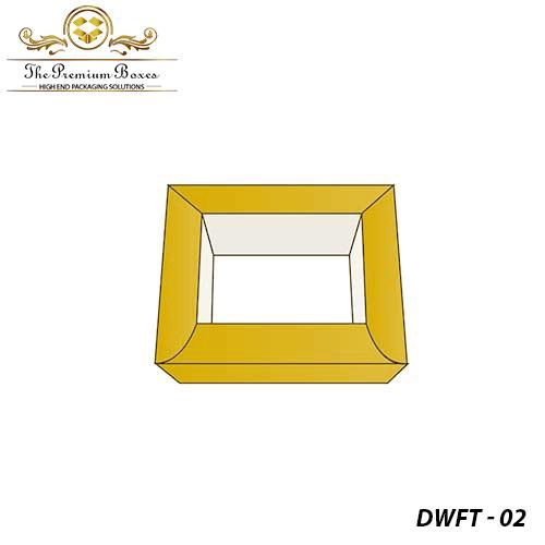 custom double wall frame tray