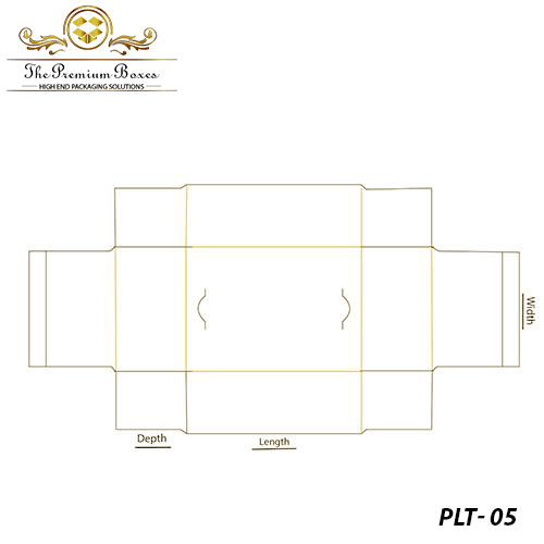 custom-pinch lock tray box template