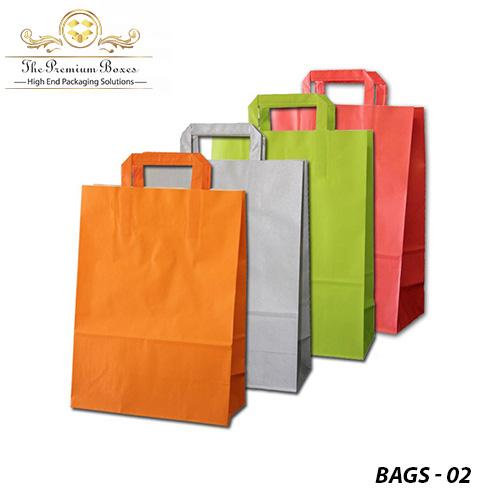 custom printed kraft paper bags