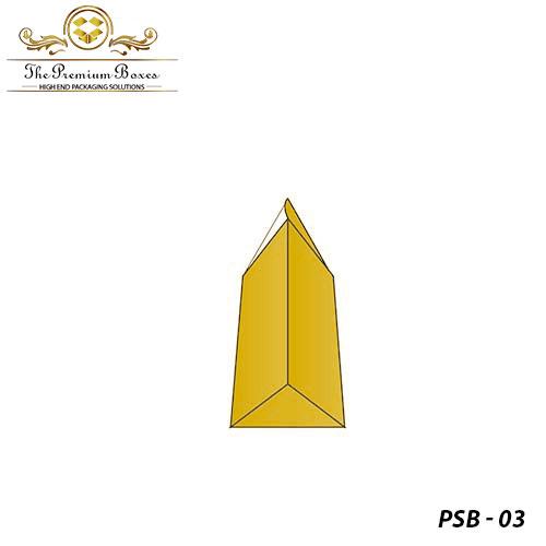 custom prism shaped box
