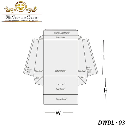 double wall with display lid design