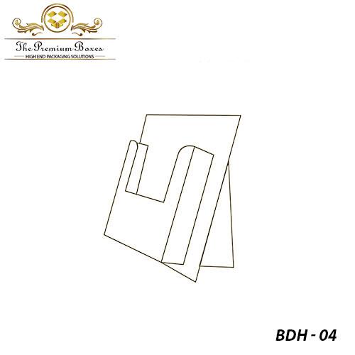 folding brochure holder design