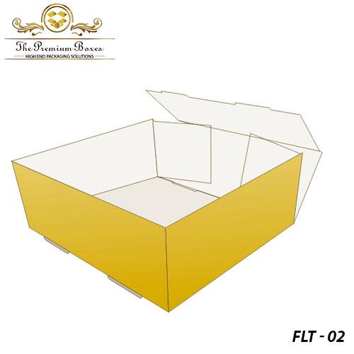 foot lock tray boxes