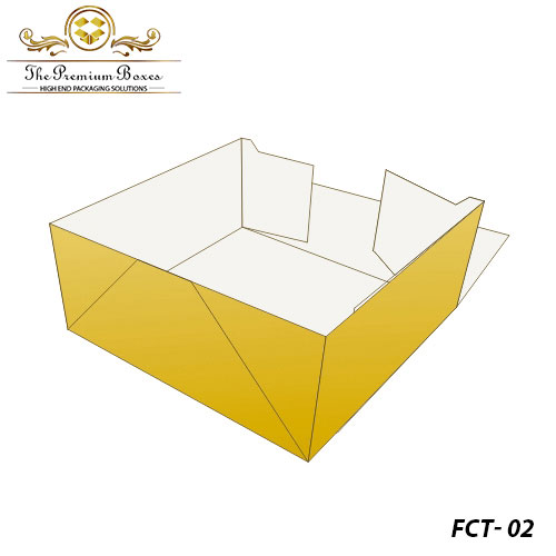 four corner tray boxes