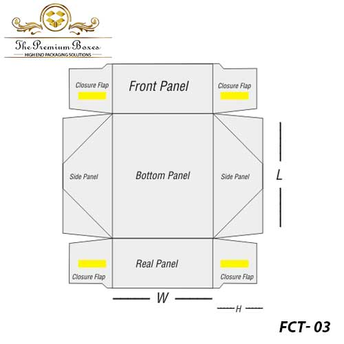 four corner tray design