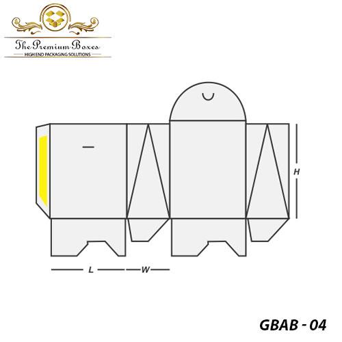 gable bag auto bottom print