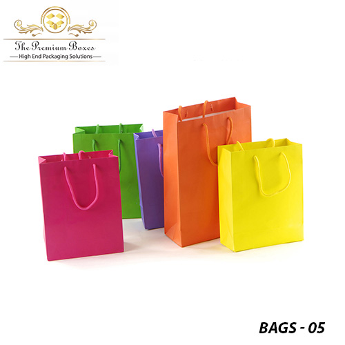 kraft bags with handles