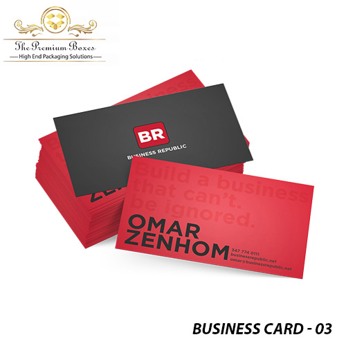 luxury business card printing