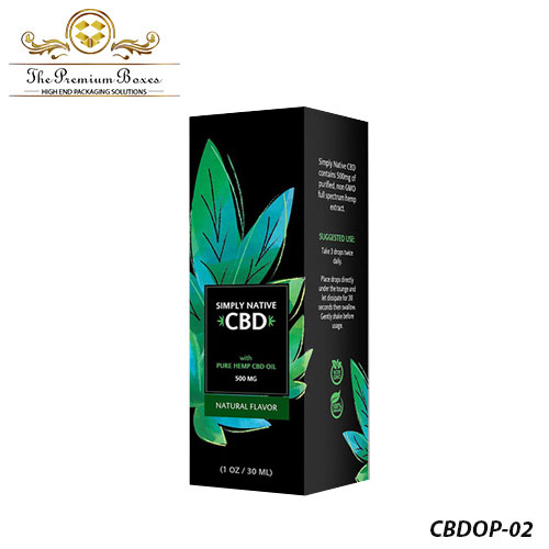 packaging for cbd oil