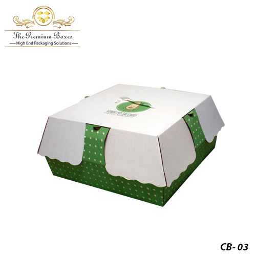 personalized cake boxes