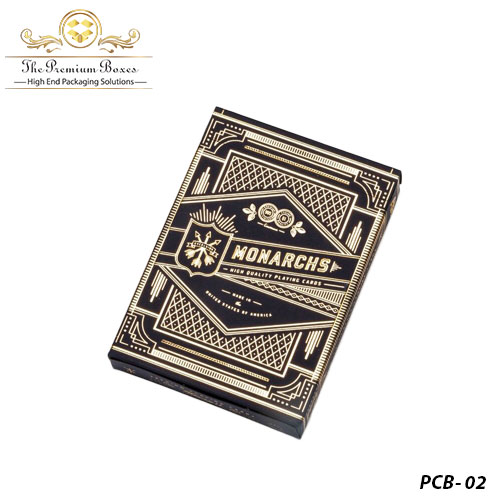 playing card box holder