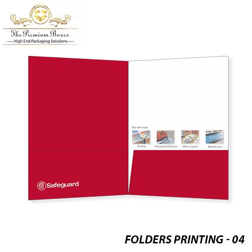 printed folders cheap