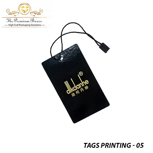 printing tags for clothing