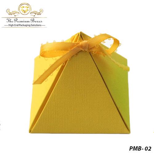pyramid gift box