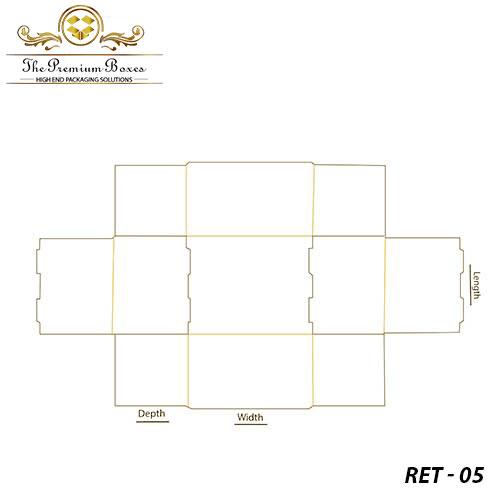 roll end tray front boxes template