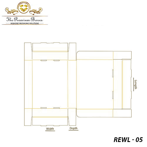 roll end with lid boxes template