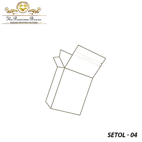 seal end with tear open lock packagin design