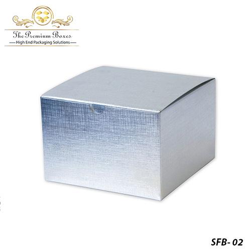 silver foil paper boxes