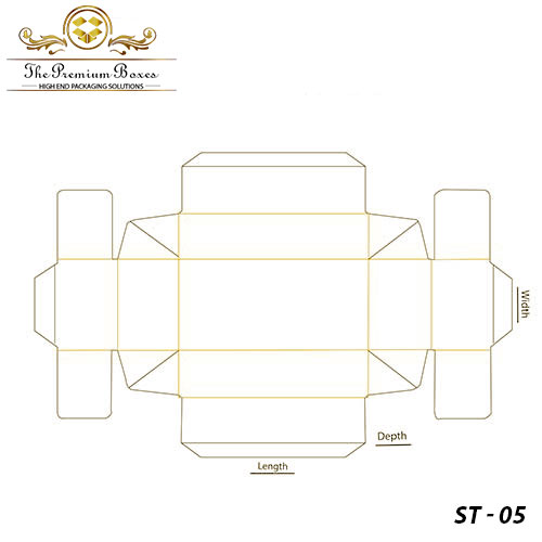 simplex tray box template