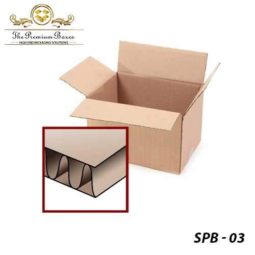 single ply packaging boxes