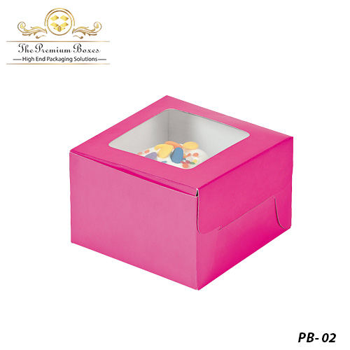 small pastry boxes
