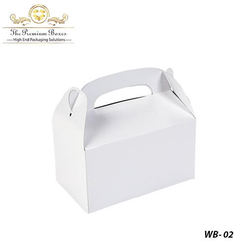 small white boxes