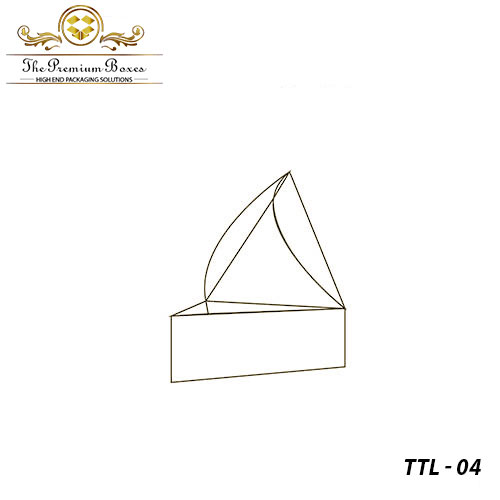 triangular tray and lid boxes design