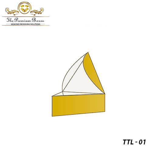 triangular tray and lid boxes wholesale