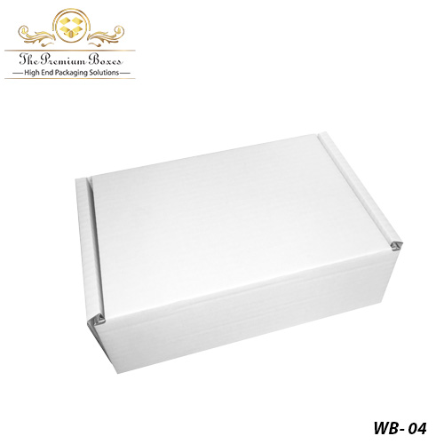 white box for photos